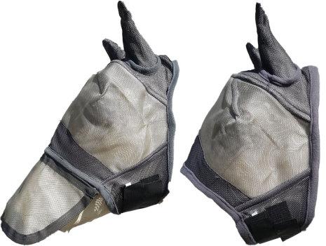 Flughuva med öron & nosskydd